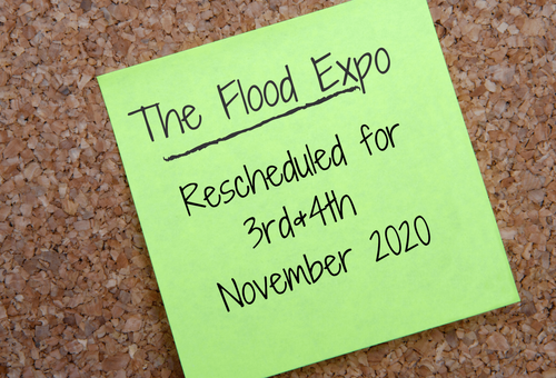 Important Announcement: The Flood Expo Rescheduled for November 2020