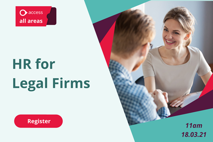 HR for Legal Firms - 11am, 18.03.21
