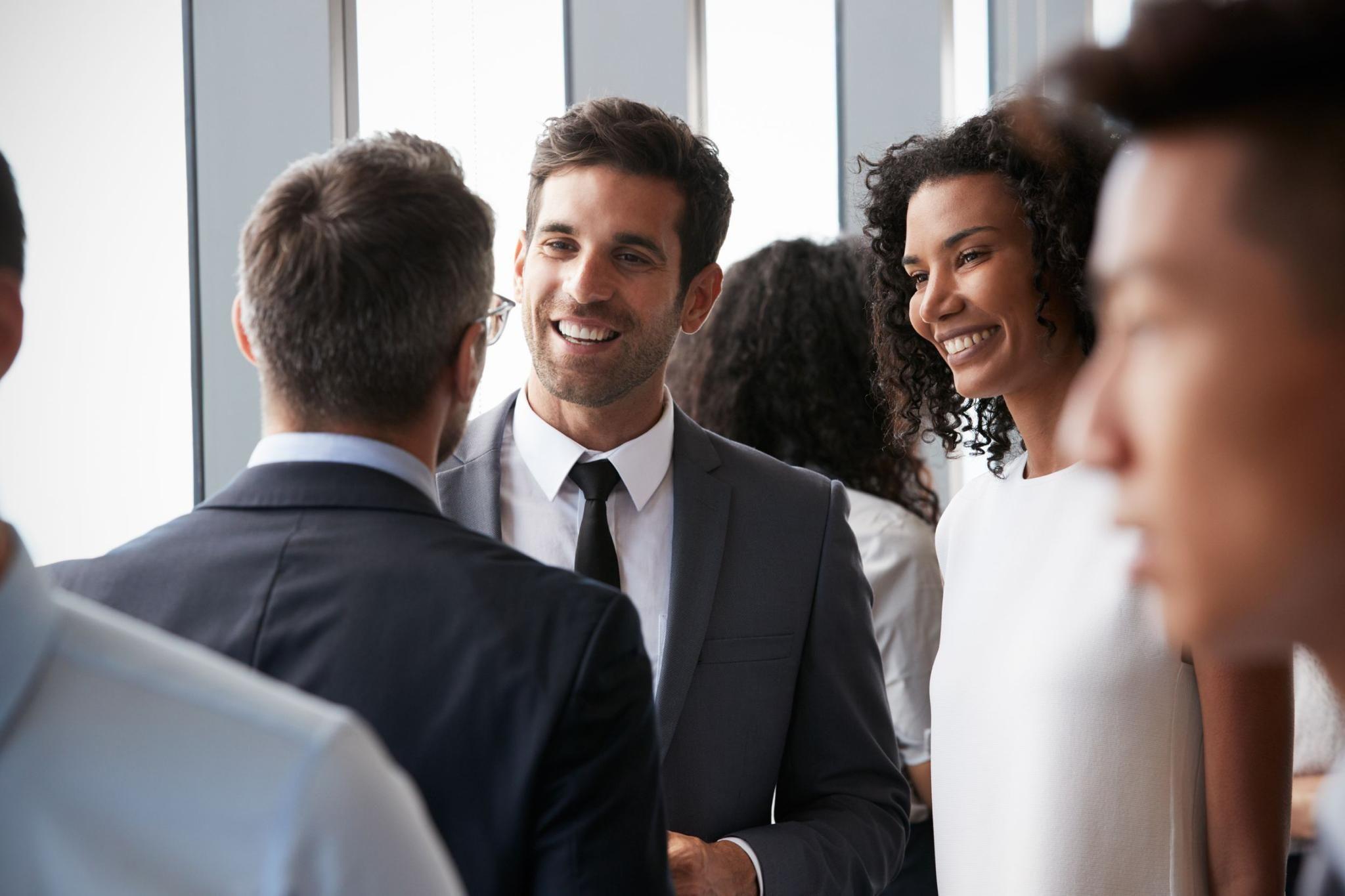 Network with industry peers
