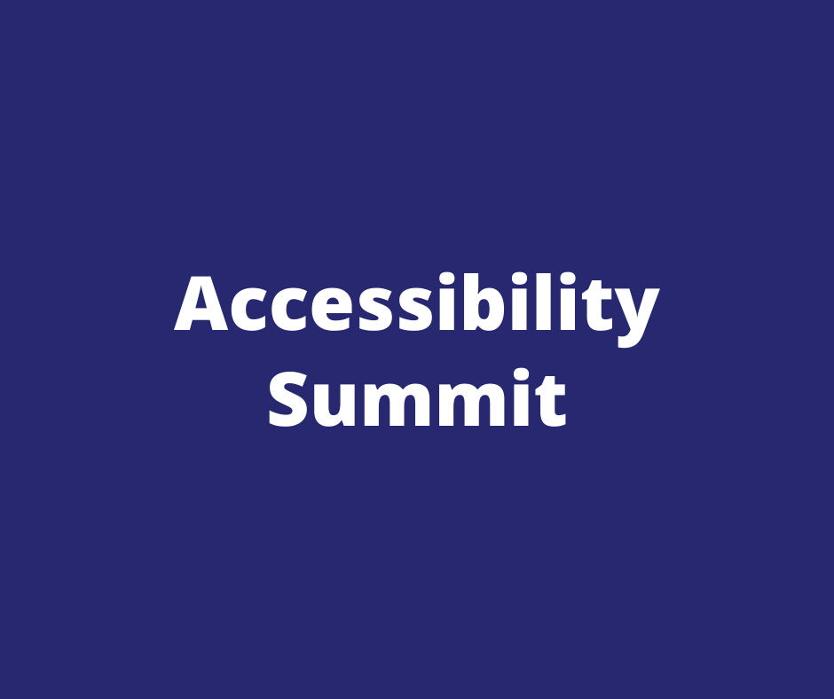 accessibility summit
