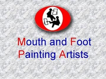Mouth and Foot Painting Artists