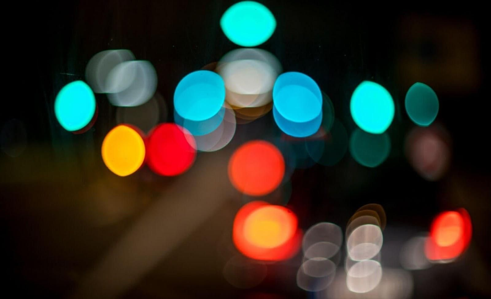 Picture of blurred lights