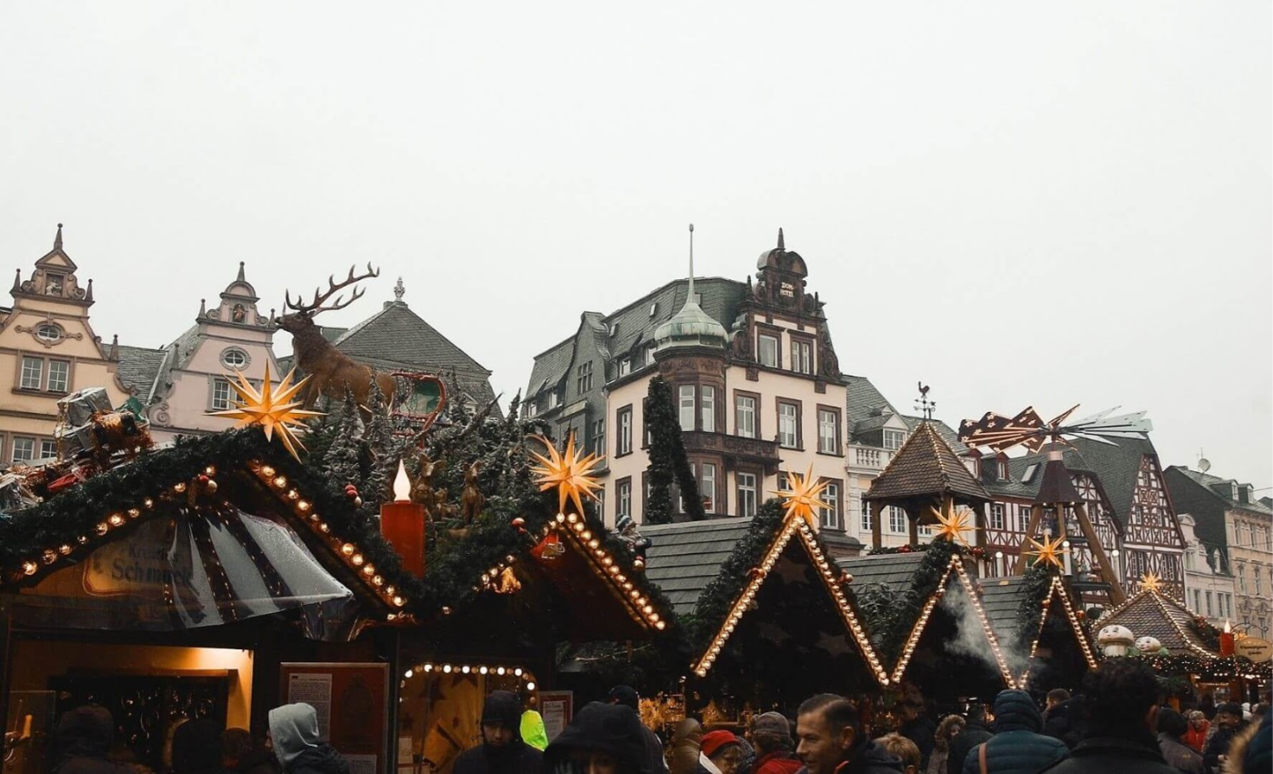 Picture of a Christmas market