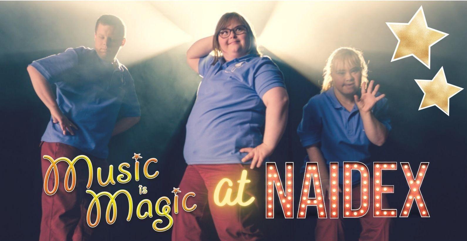 Music is Magic at Naidex