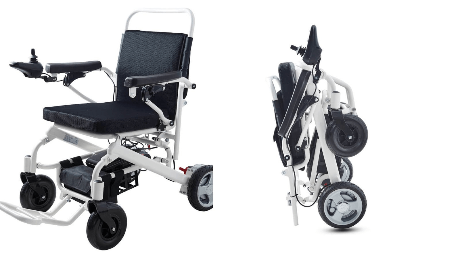Picture of a Foicare folding electric wheelchair
