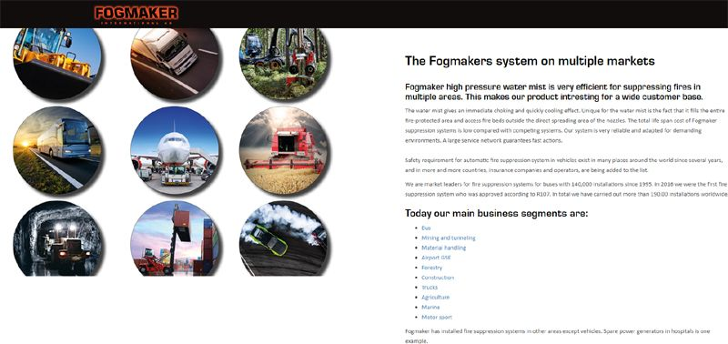 PSV Transport t/a Fogmaker