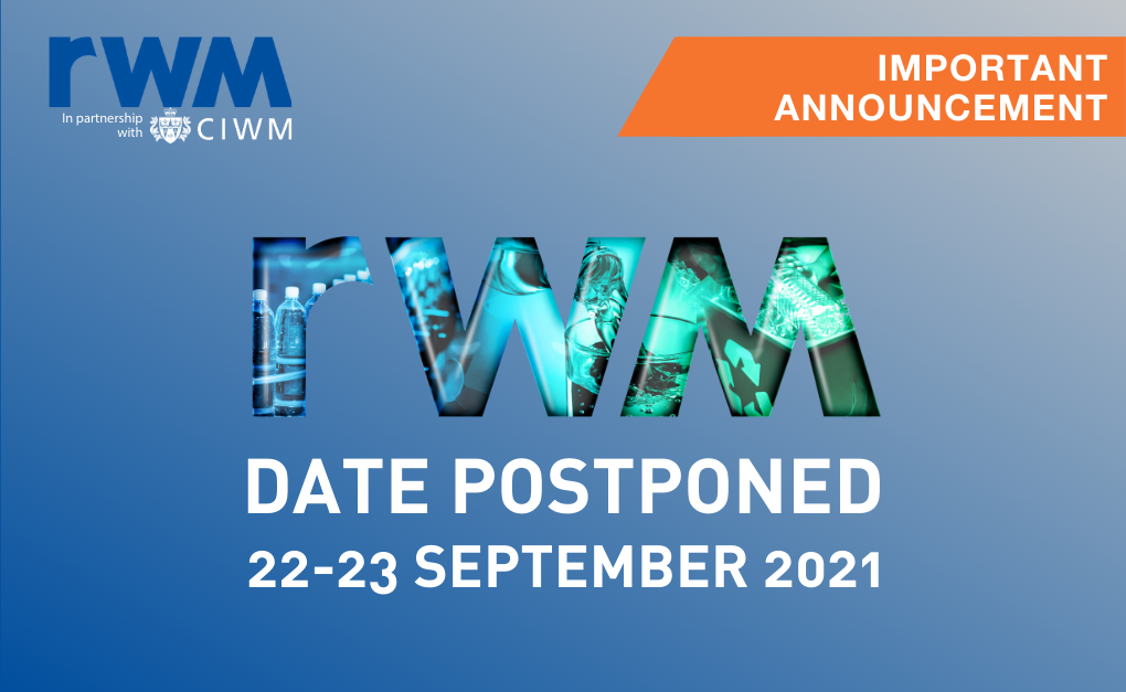 Important Update: RWM Postponed to 2021