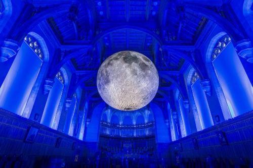 The marvallous moon