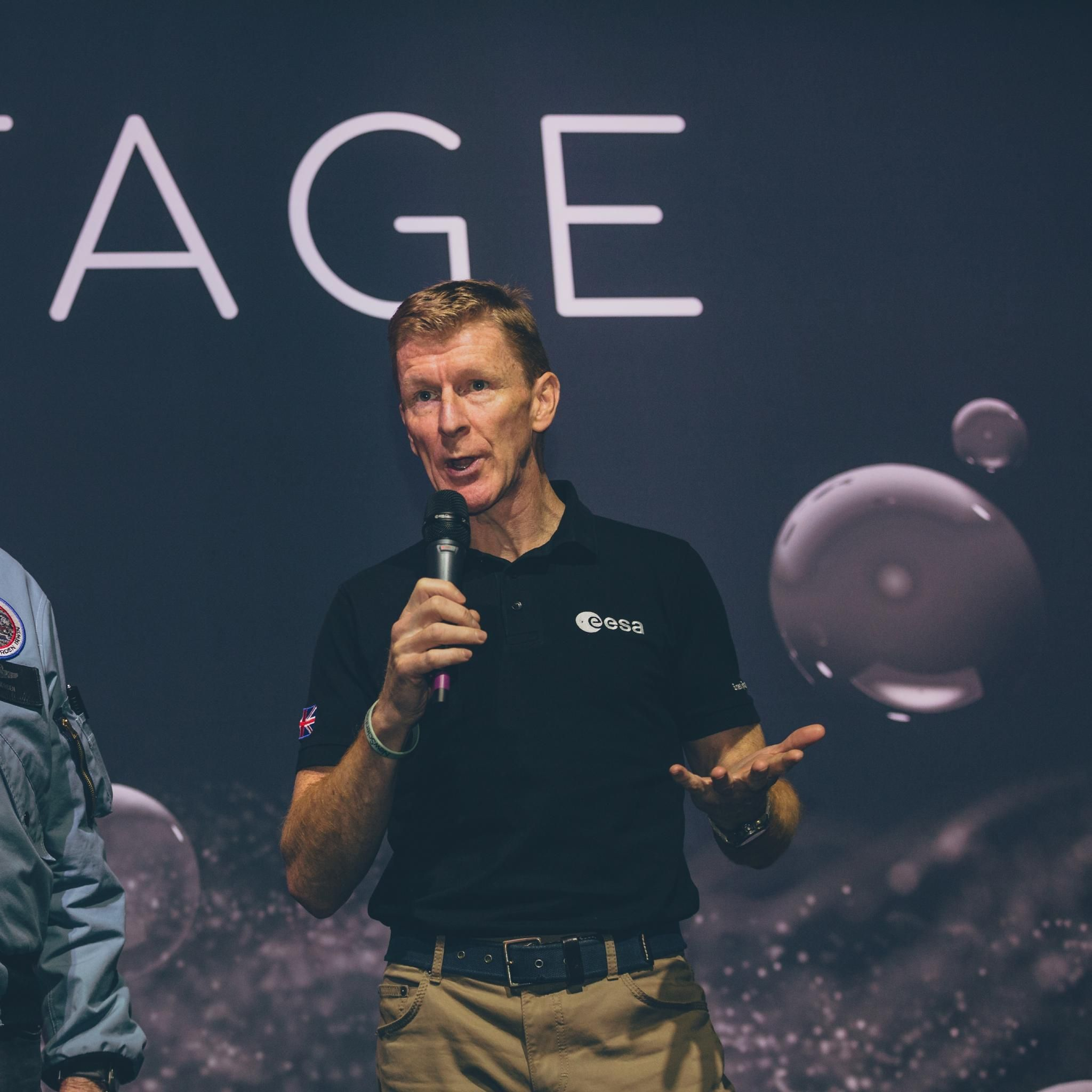 Tim Peake's return to New Scientist Live 2019