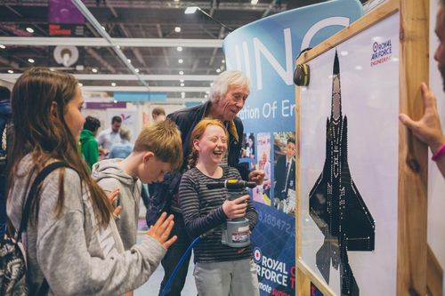 Family fun at New Scientist Live 2019