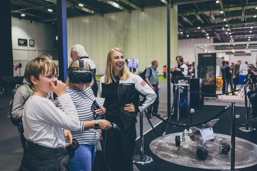 VR at New Scientist Live 2019