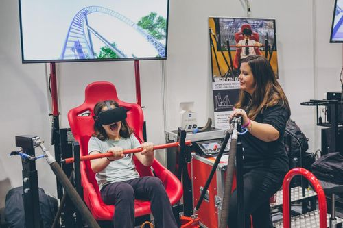 Middlesex University's VR roller coaster