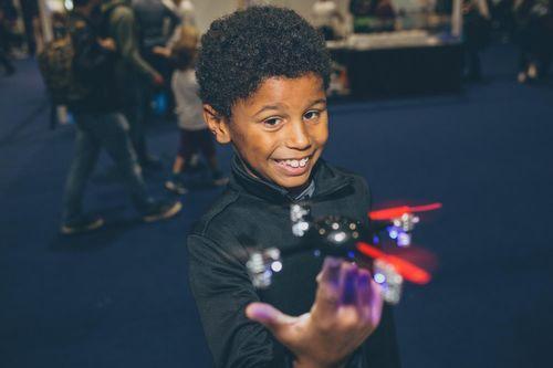 Mini drone fun!