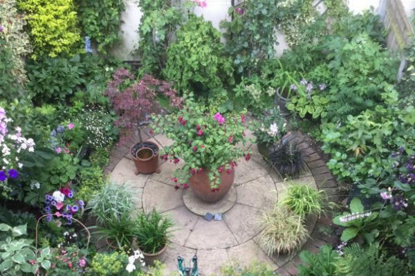 CAroline Angell Every Space Counts Competition finalist, Gardeners' World BBC Two