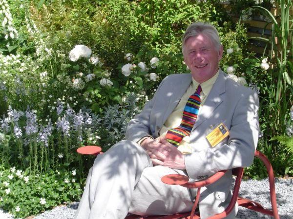 Professor David Stevens, designer, Wyevale Garden Centres Solutions Garden
