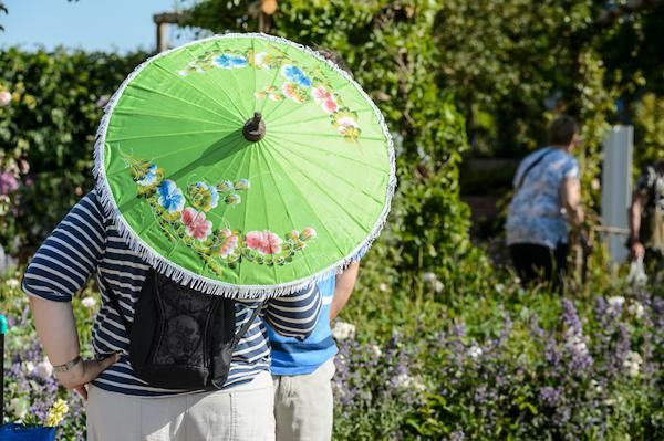 dress for the weather at BBC Gardeners'' World Live