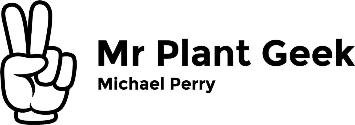 Mr Plant Geek logo Michael Perry