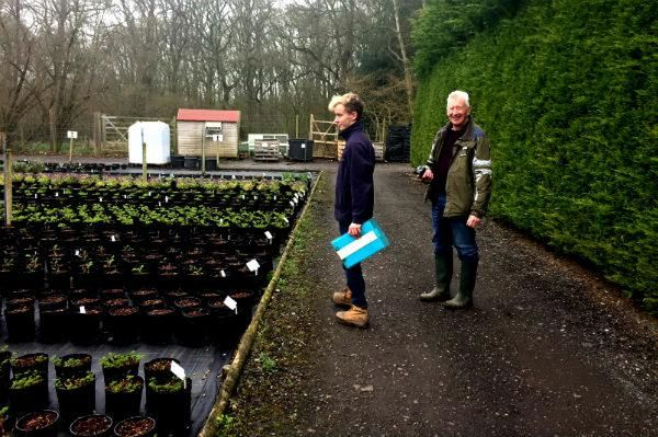 David Stevens visits the Wyevale Garden Centre Nurseries to select plants for the Solutions Garden