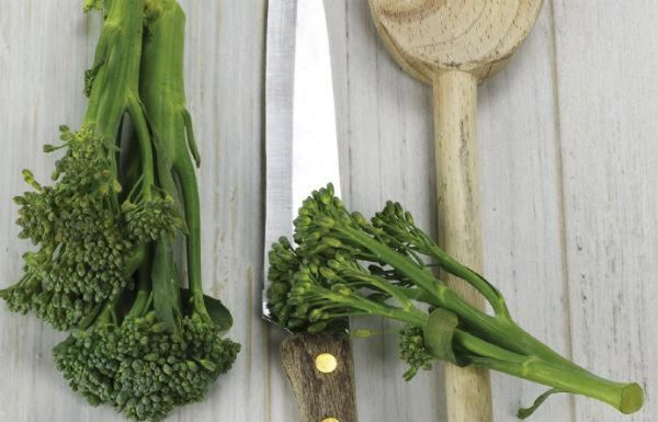 broccoli veg recipe rich harris - bbc good food show summer 2017 recipe