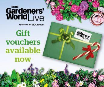 gift vouchers bbc gardeners world live christmas present