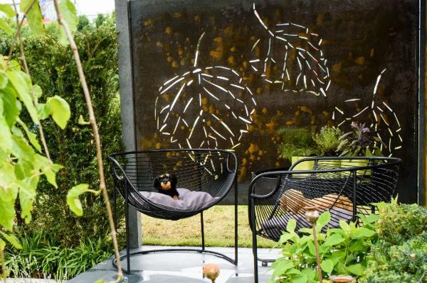 metal garden screens
