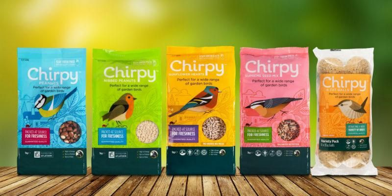 Chripy bird food christmas gift idea