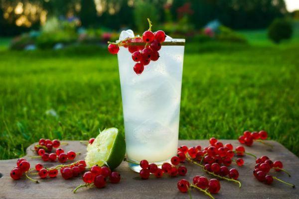 drinks in the garden cocktails
