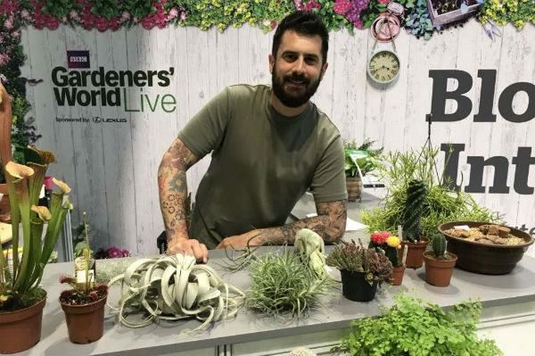 Houseplant tips with Michael Perry, Mr Plant Geek