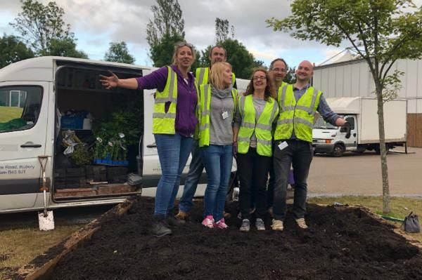 Kate Mason and her team of Beautiful Border Volunteers