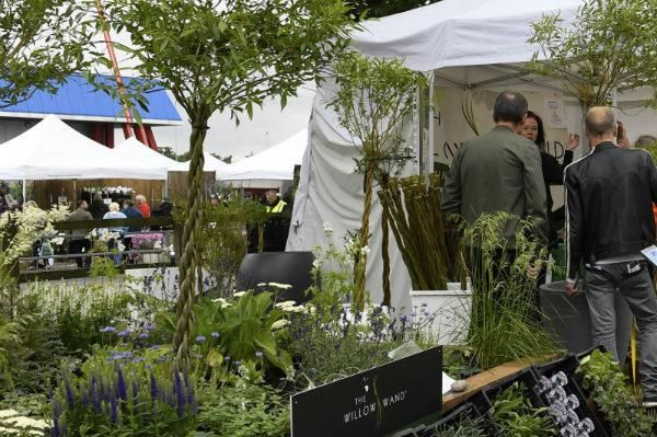 Willow Wand stand at BBC Gardeners' World Live 2019