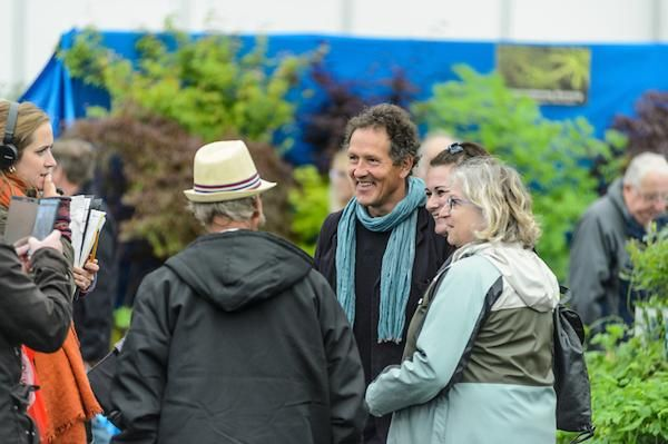 Monty Don at BBC GArdeners' World Live