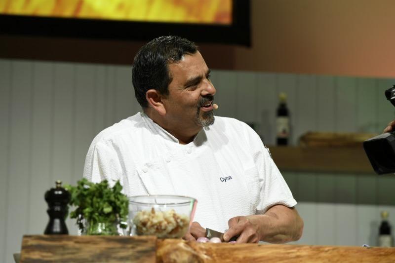 Cyrus Todiwala at The BBC Good Food Show 2018