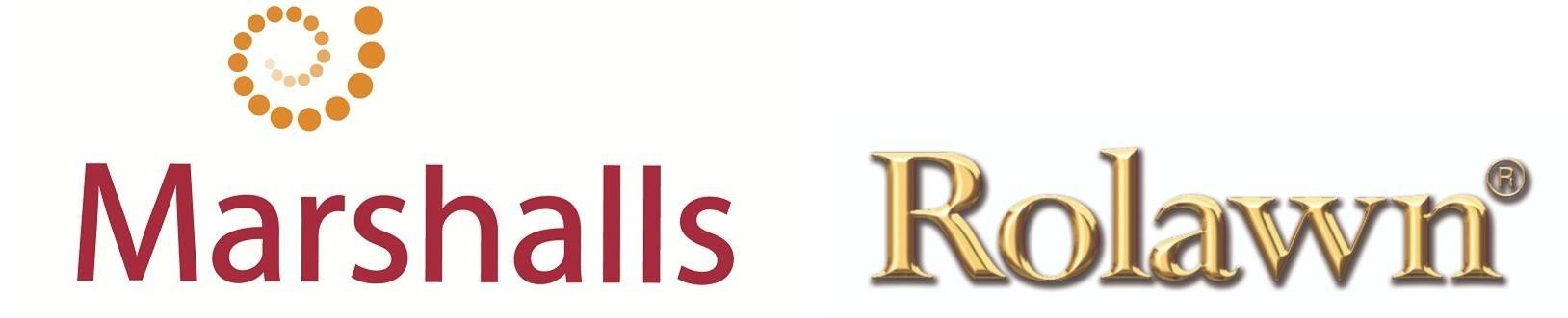marshalls and rolawn logos