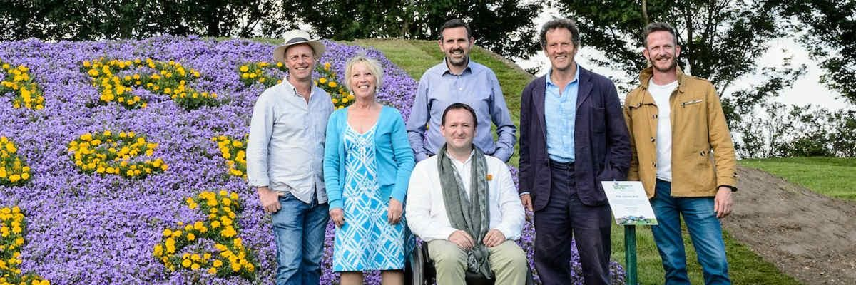 My Gardeners world stage - BBC Two TV Team