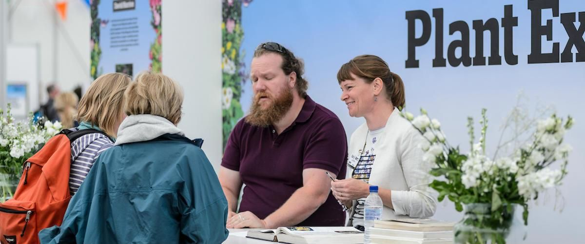 The Plant Experts at BBC Gardeners' World Live - advice desk
