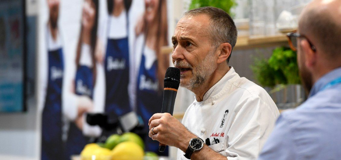 Michel Roux Jr at the BBC Good Food Show Summer 2019