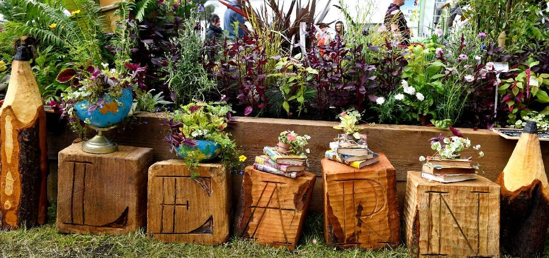family gardening at BBC Gardeners' World Live