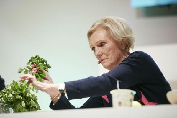 Mary Berry at the BBC Good Food Show, free entry with BBC Gardeners' World Live tickets