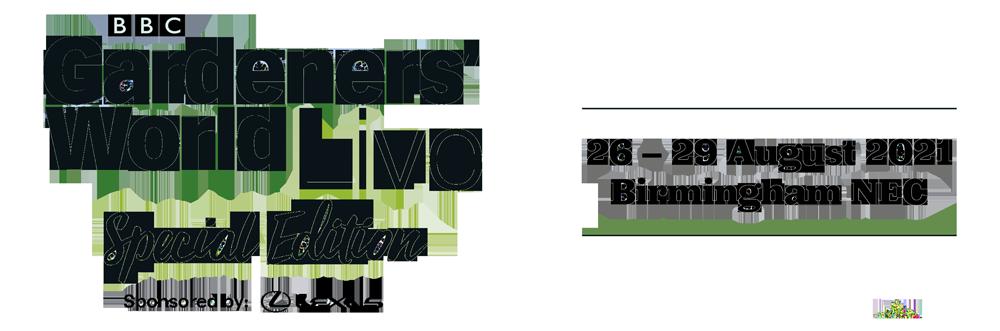 BBC Gardeners' World Live Special Edition logo 2021