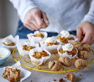 Carrot and Apple Muffins recipe - celebrate Apple Day