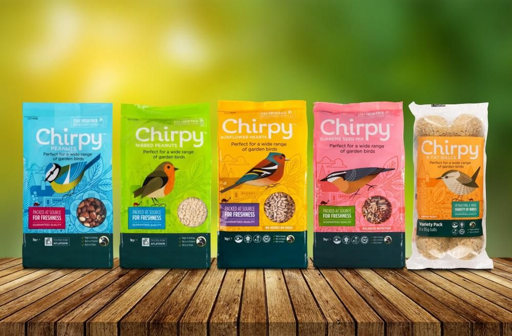 Chirpy Bird Food