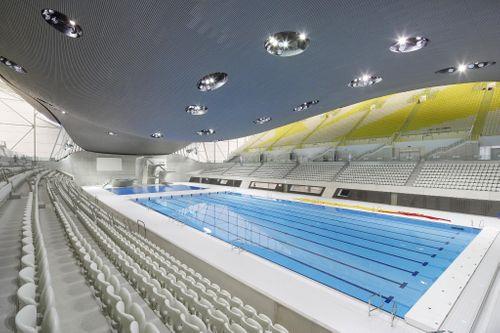 ARDEX Products Deliver Gold at London 2012 Aquatics Centre