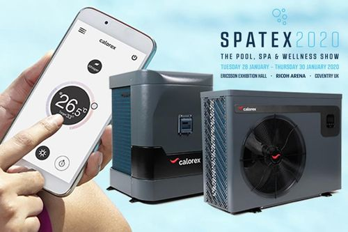 Calorex to showcase new range of inverter heat pumps at SPATEX 2020