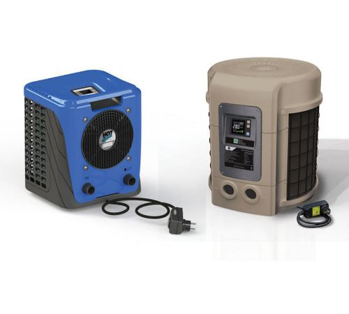 Hot Splash and SunSpring Plug & Play Heat Pumps