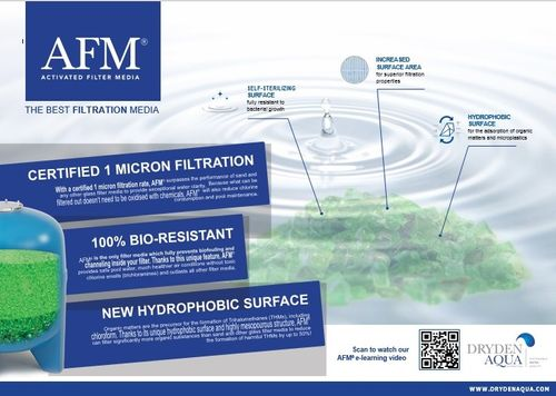 Dryden Aqua is launching in the UK a new version of their AFM Activated Filter Media called AFM ng