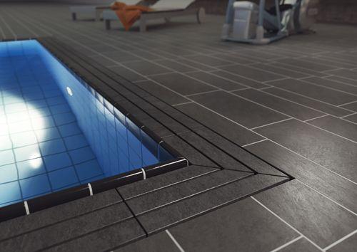 EMCO Swimming Pool Grating Model 723 Design