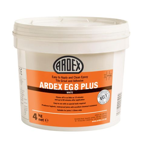 ARDEX EG 8 PLUS Easy To Apply & Clean Epoxy Tile Grout
