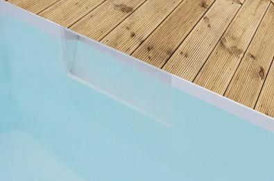 The Skimmer Invisible, a new type of pool
