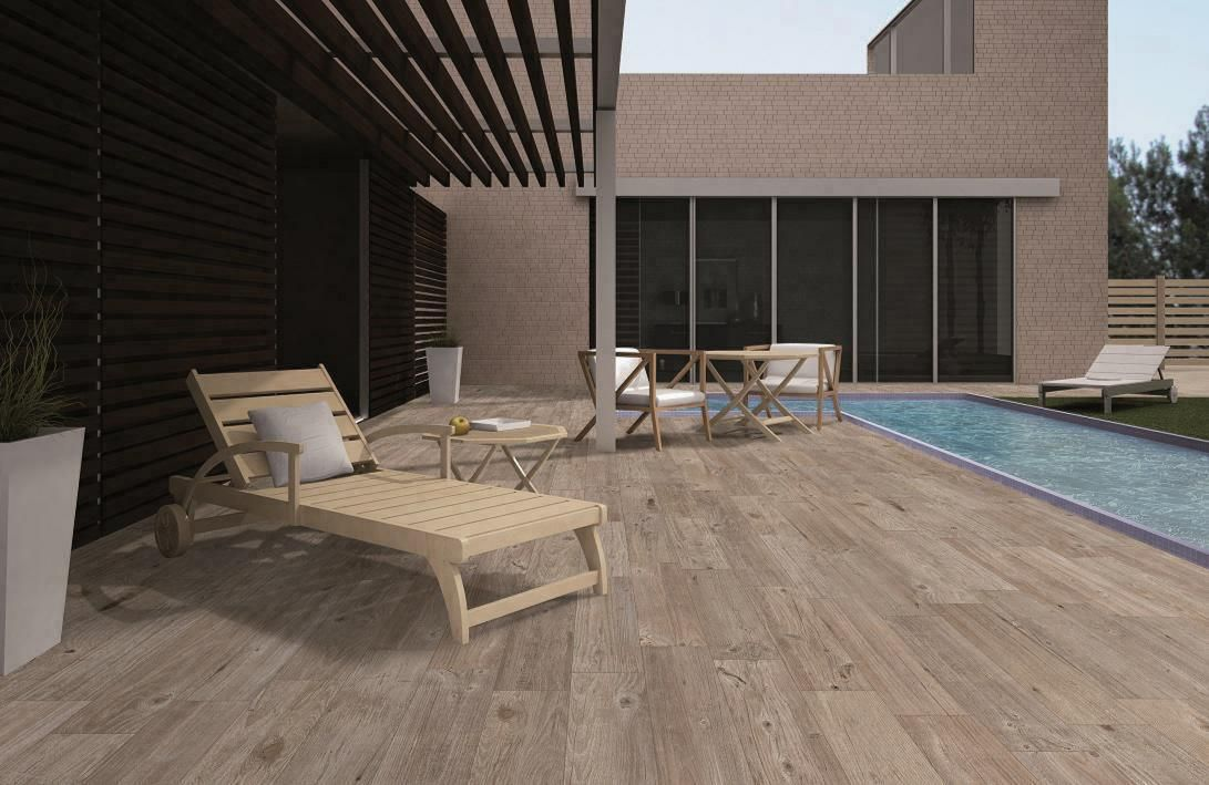 Create Contemporary Wood Effect with Vancouver & Origin Anti-Slip Porcelain Tiles