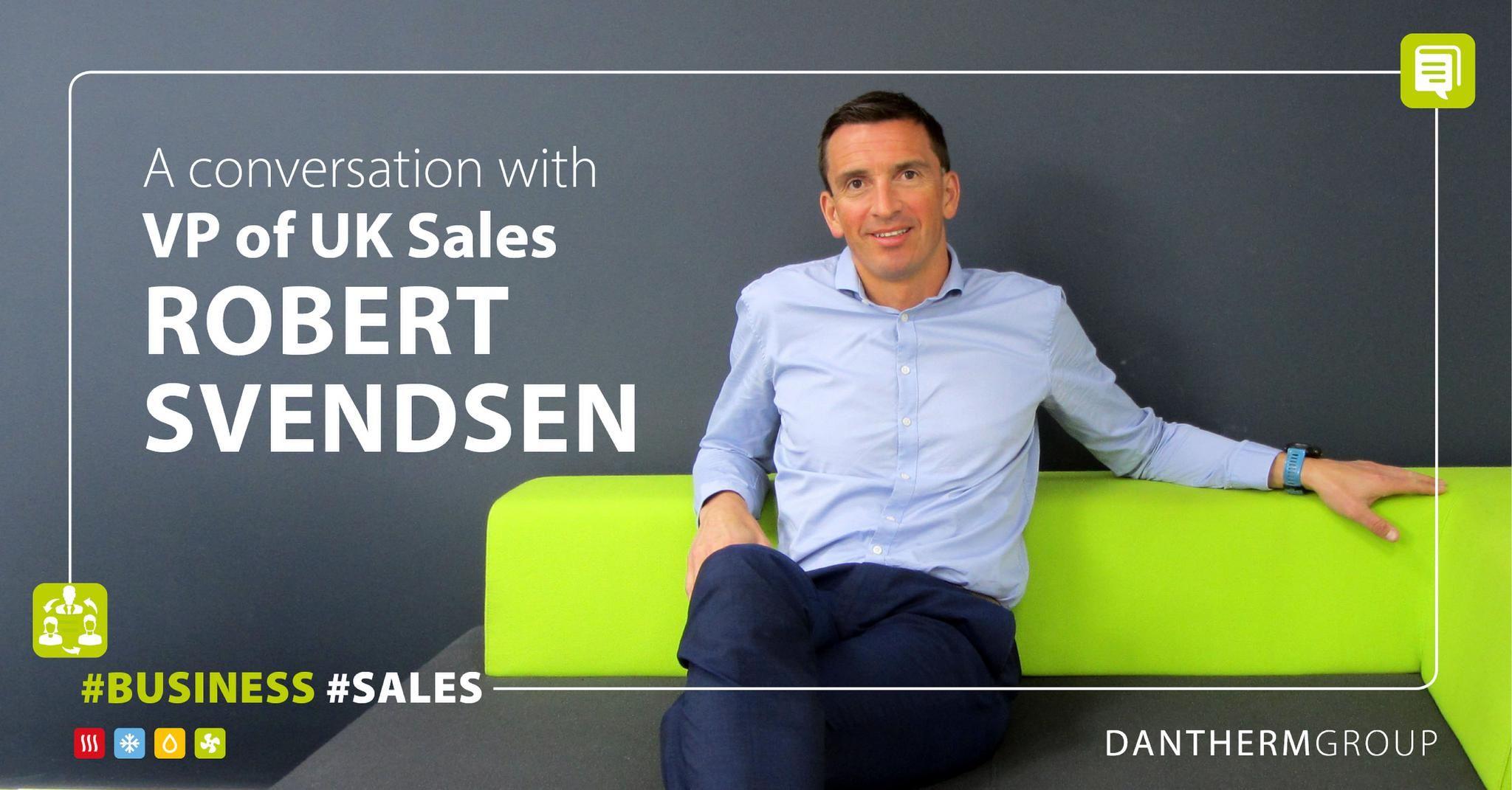 A conversation with VP of UK Sales Rob Svendsen